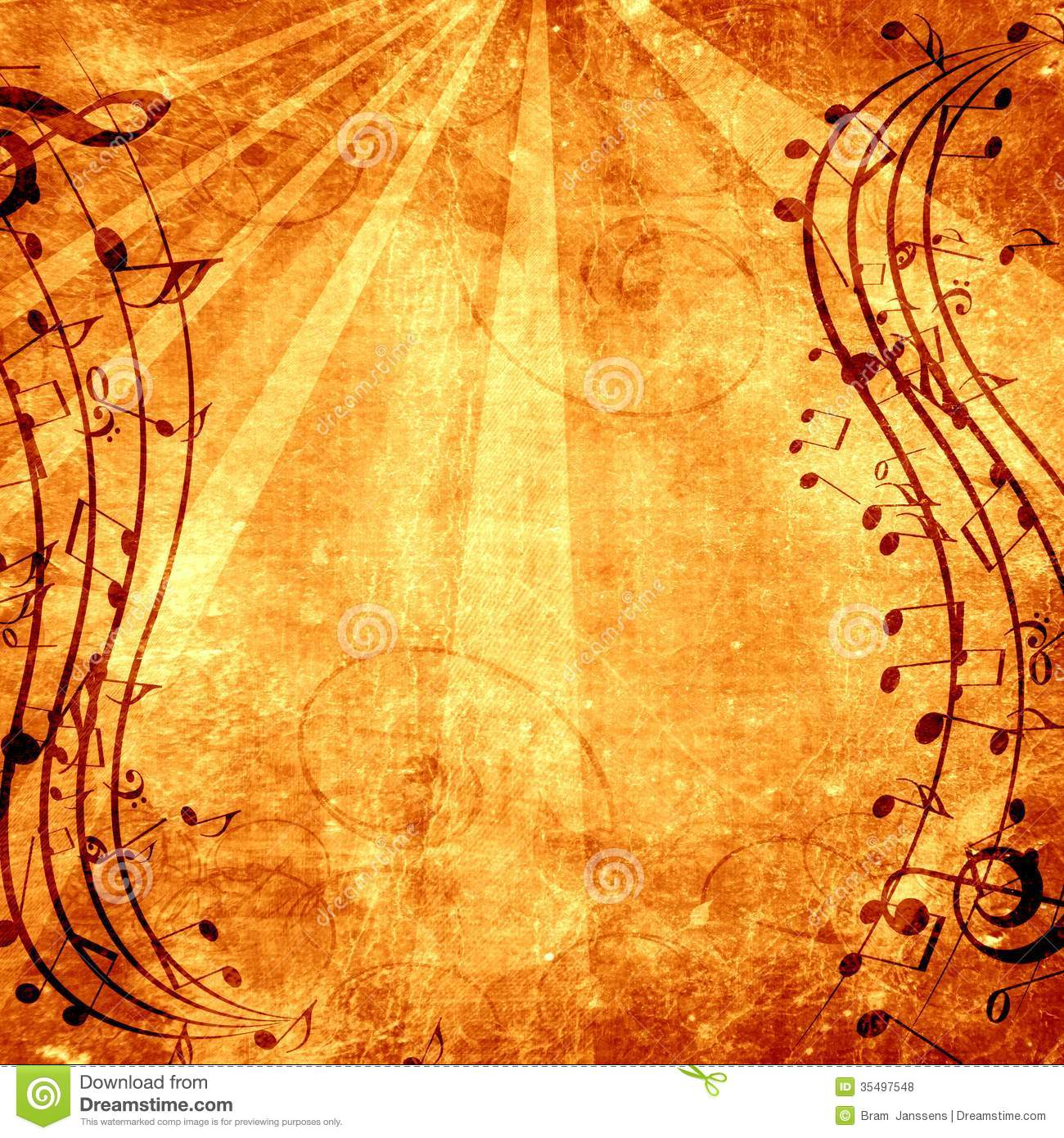 Music Background Backdrop Artistic