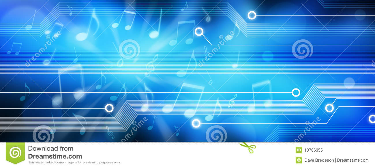 Music Background Banner