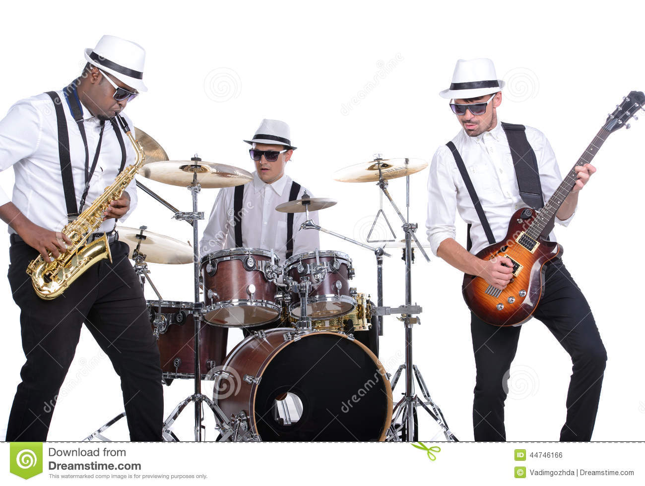 music band stock photo image 44746166 rock band clipart black and white rock band clipart free