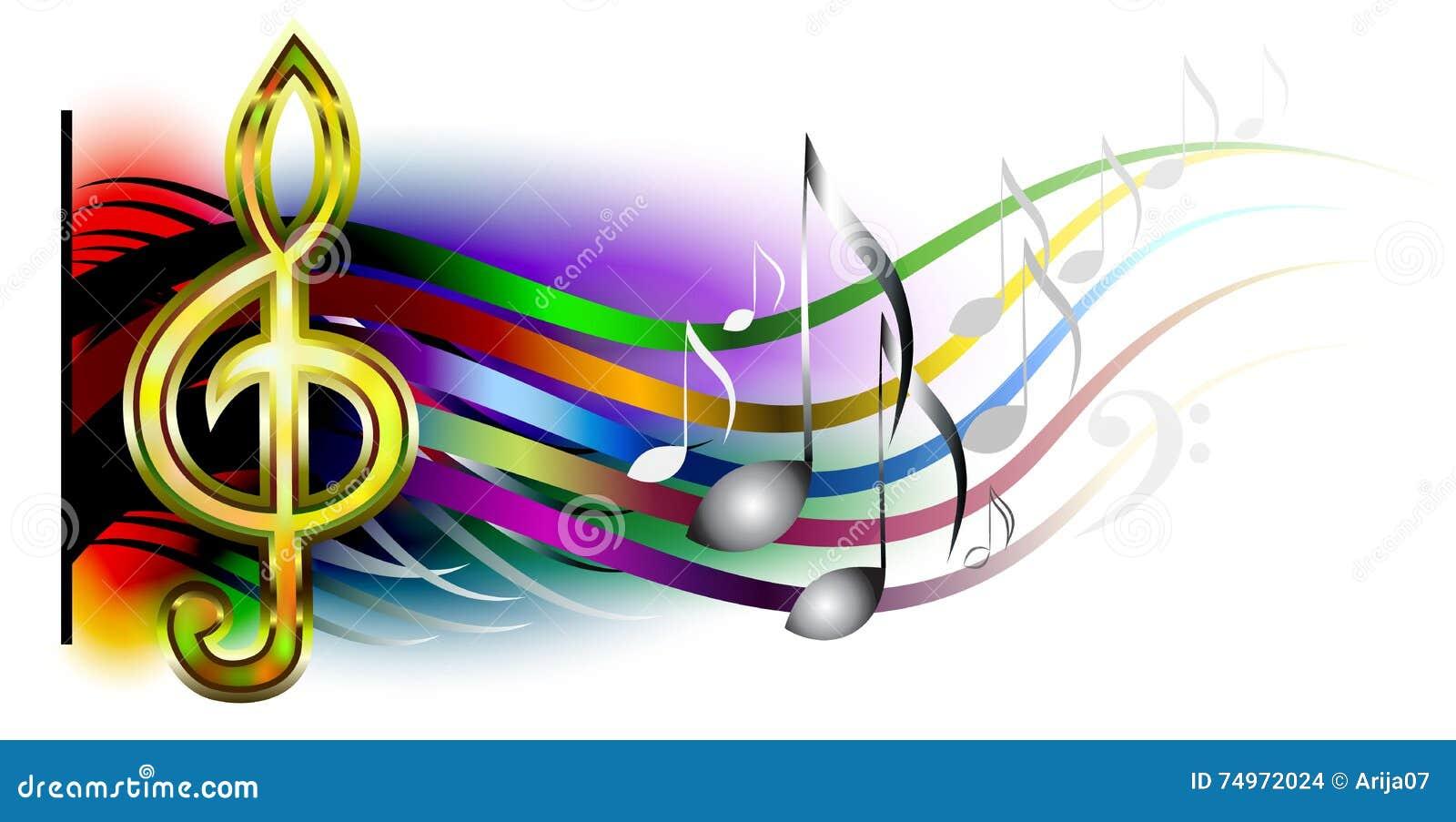 Vector Music banner stock vector. Illustration of ...