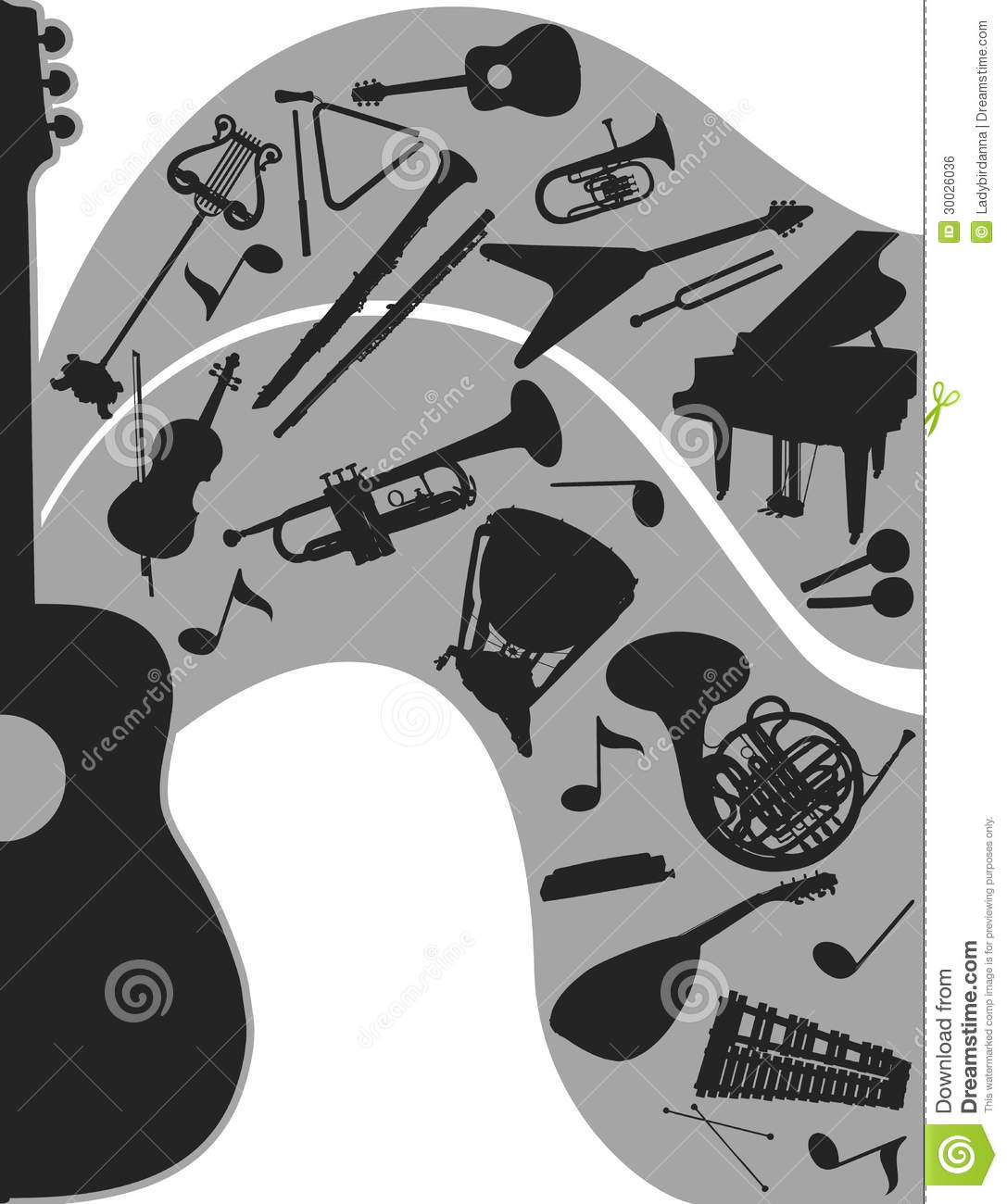 Musical Instruments Images Stock Pictures Royalty Free | Tattoo Design ...