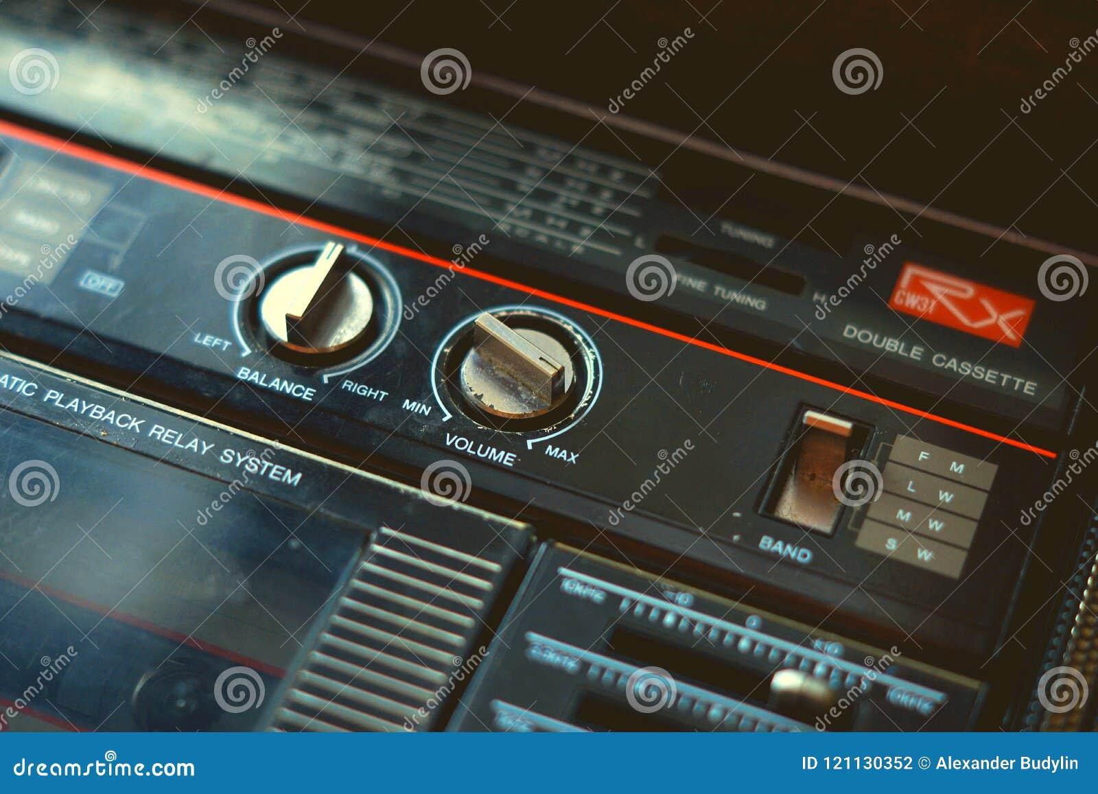 Music cassette player