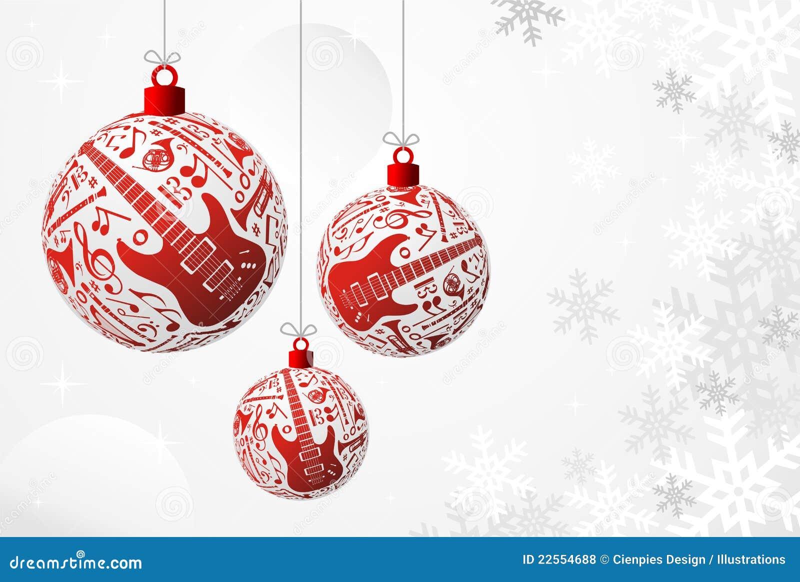 Music Christmas card stock vector. Illustration of musical - 22554688