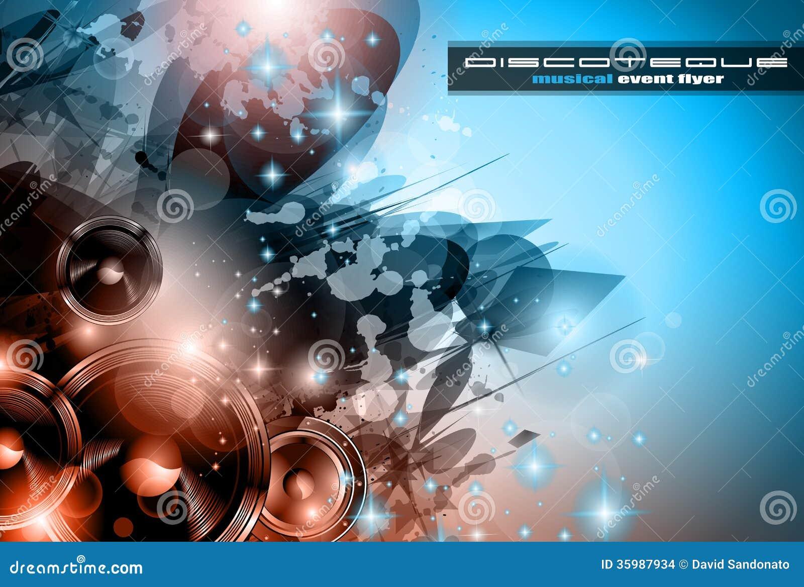 Poster backgrounds design - Background Club Dance Design