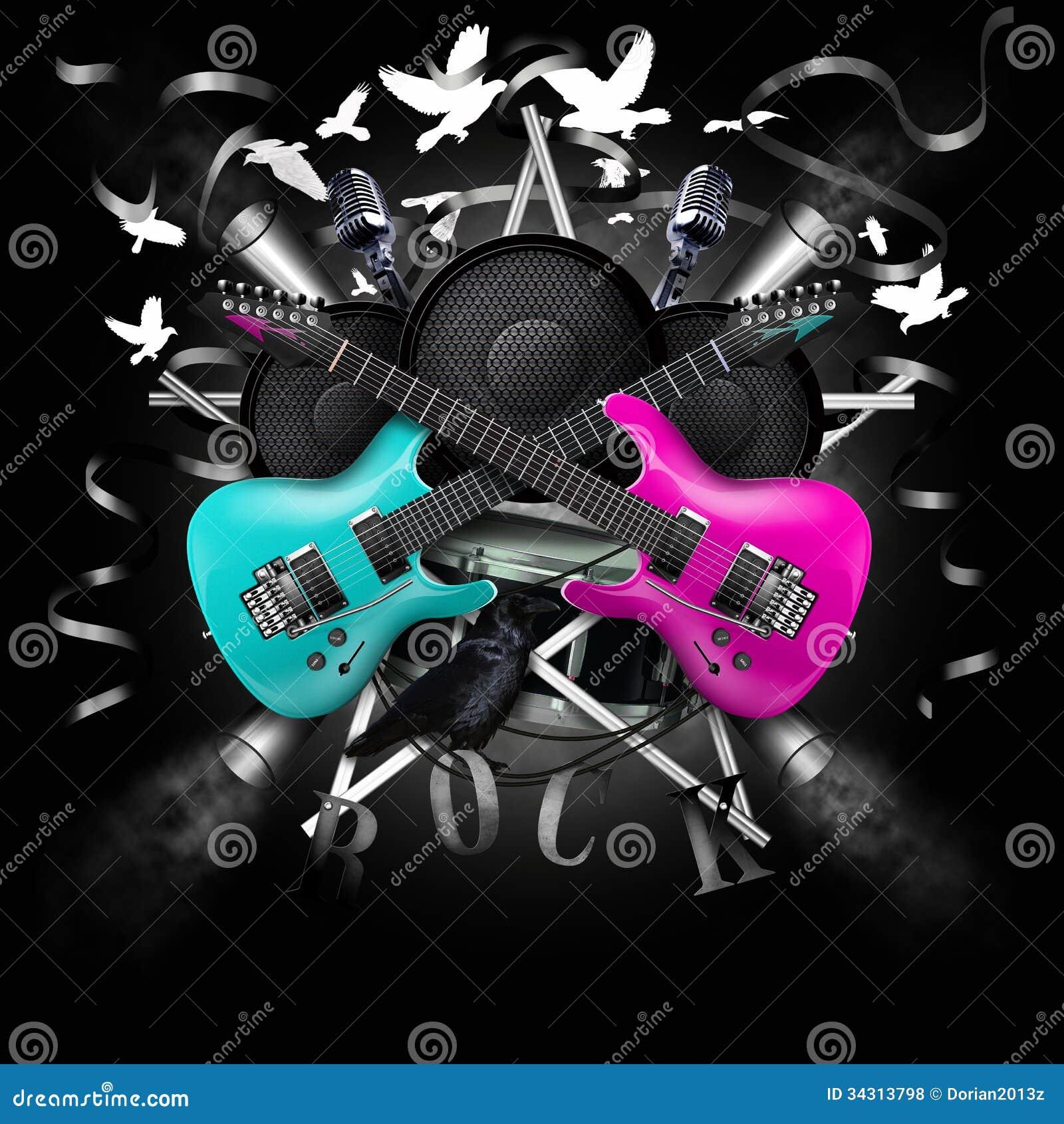 Rock Music Clipart
