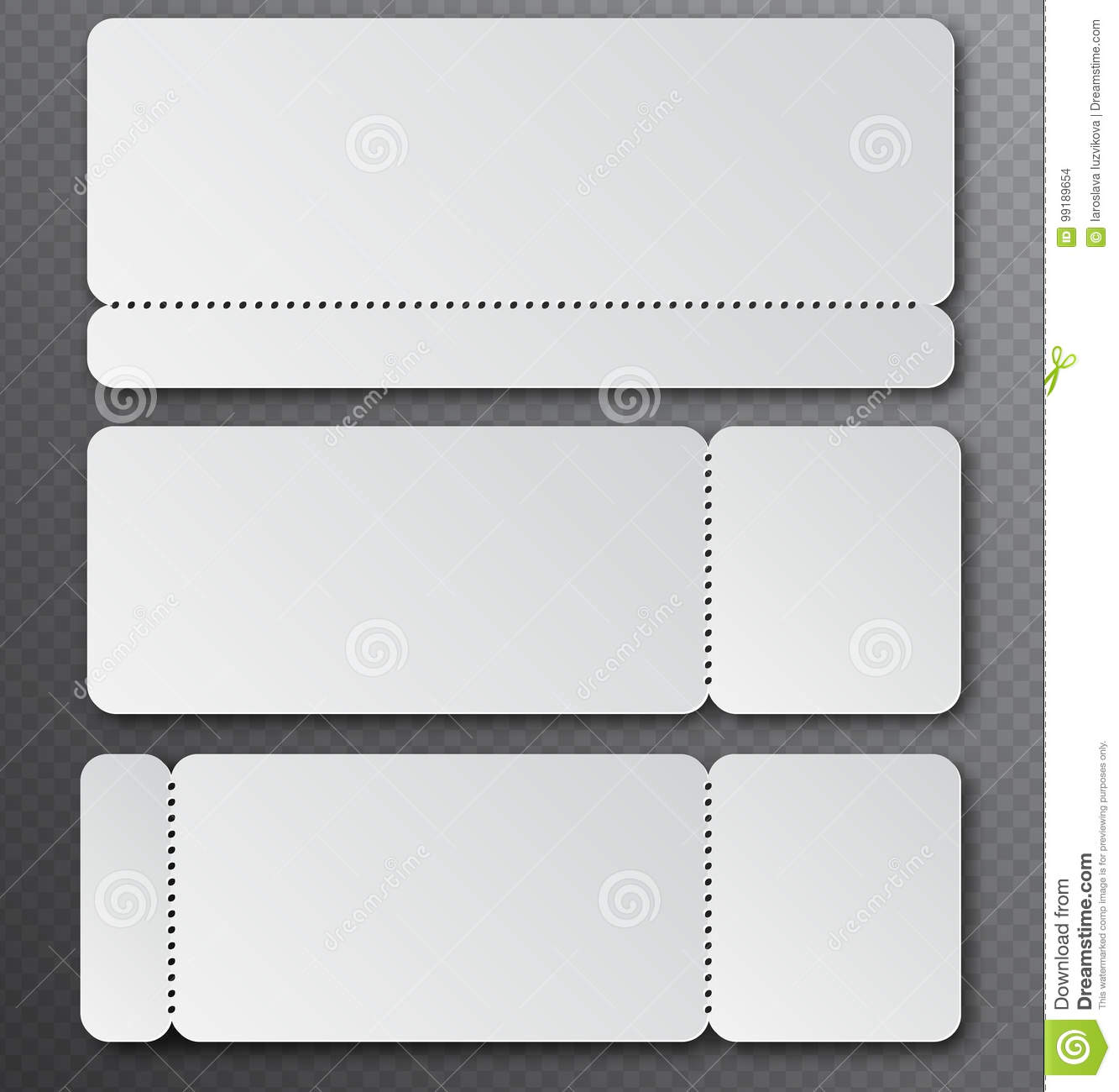 Dance Recital Tickets Template from thumbs.dreamstime.com