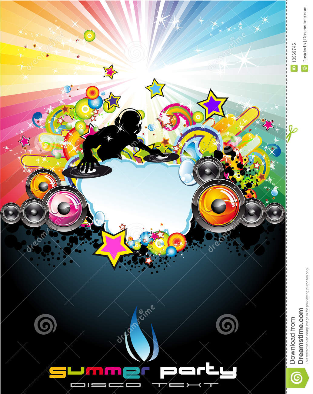 More similar stock images of music event abstract background