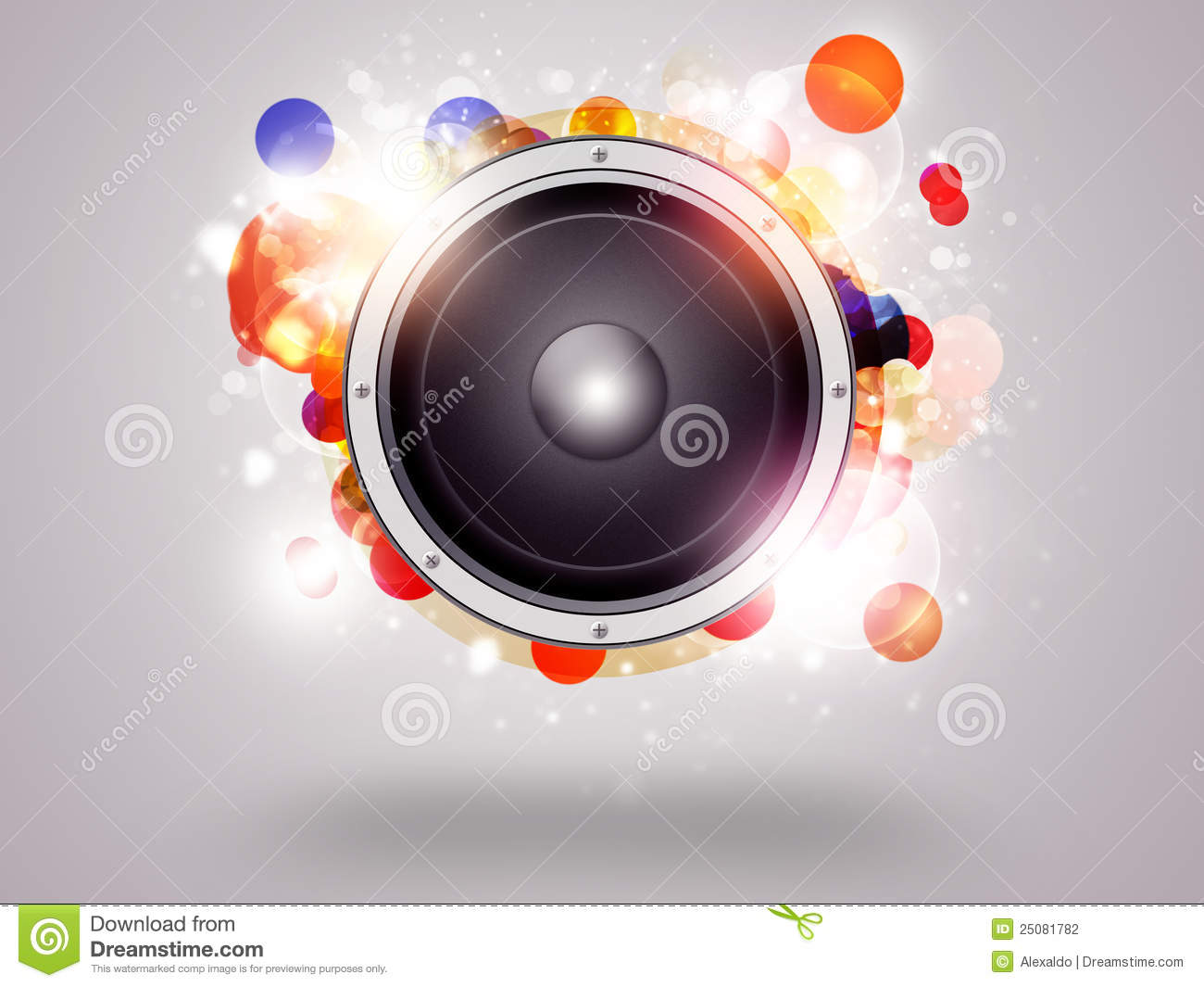 Music Funky Background Stock Photography - Image: 25081782