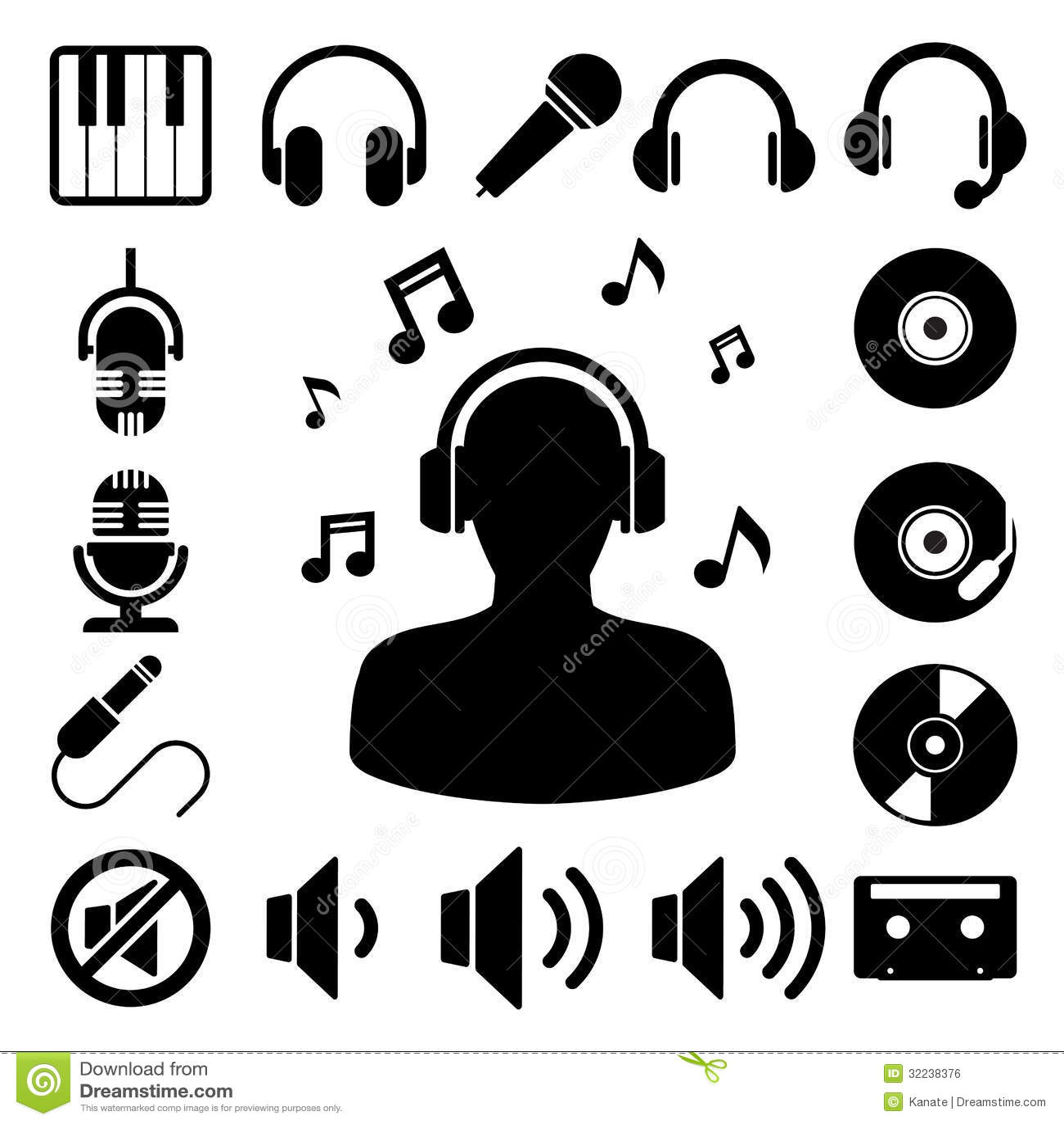 скачать иконки музыкальные: