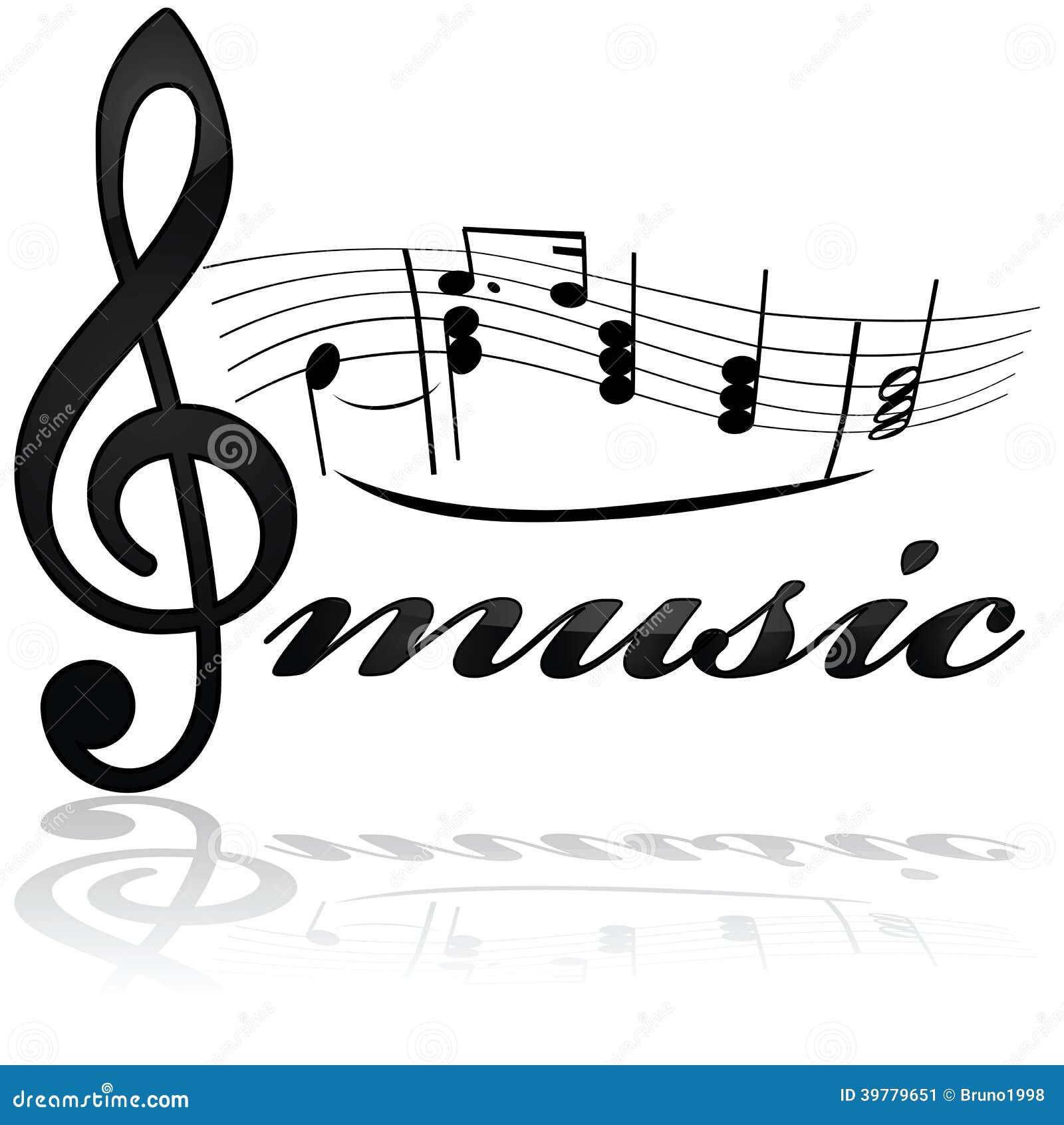 Music Icon Stock Vector Illustration Of Vector Symbol 39779651