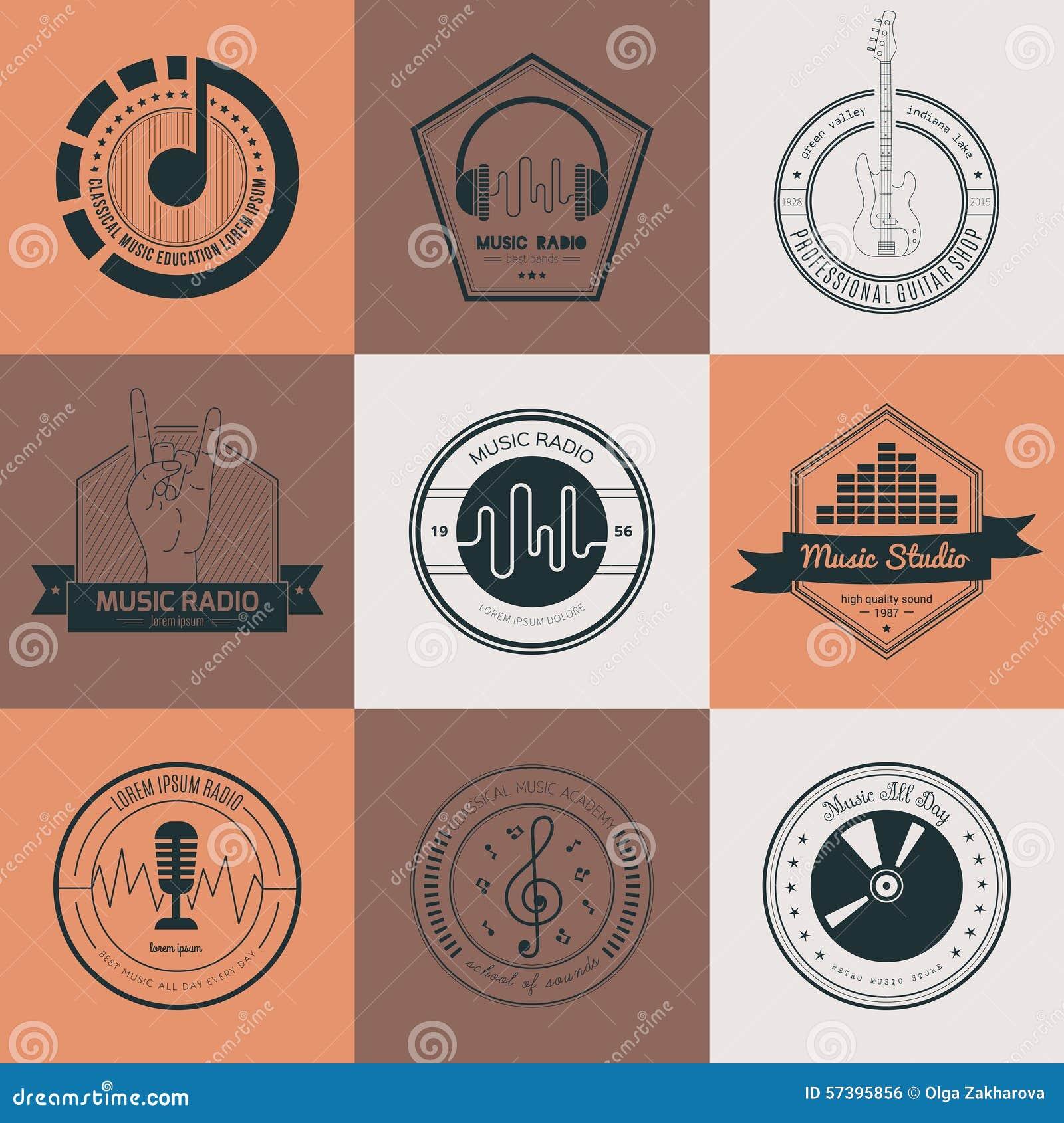 Music Label Stock Vector. Illustration Of Heavy, Label