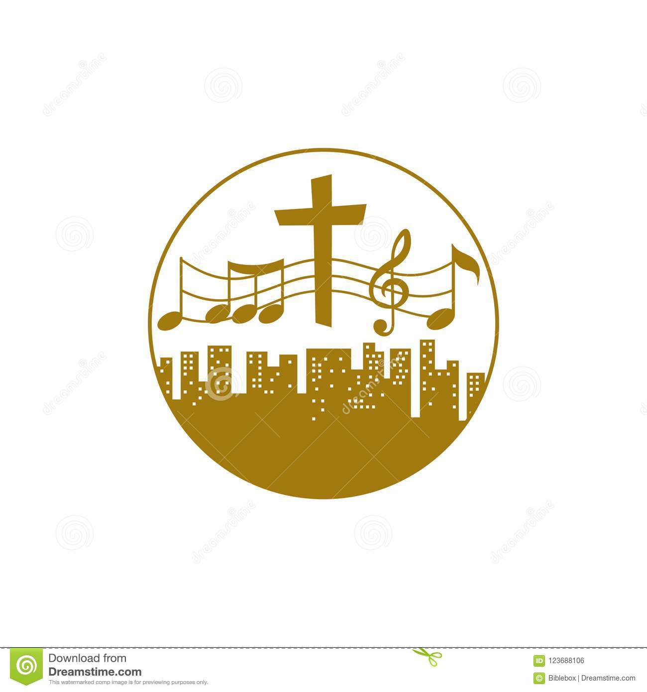 Music Logo Christian Symbols People Of All Nations And