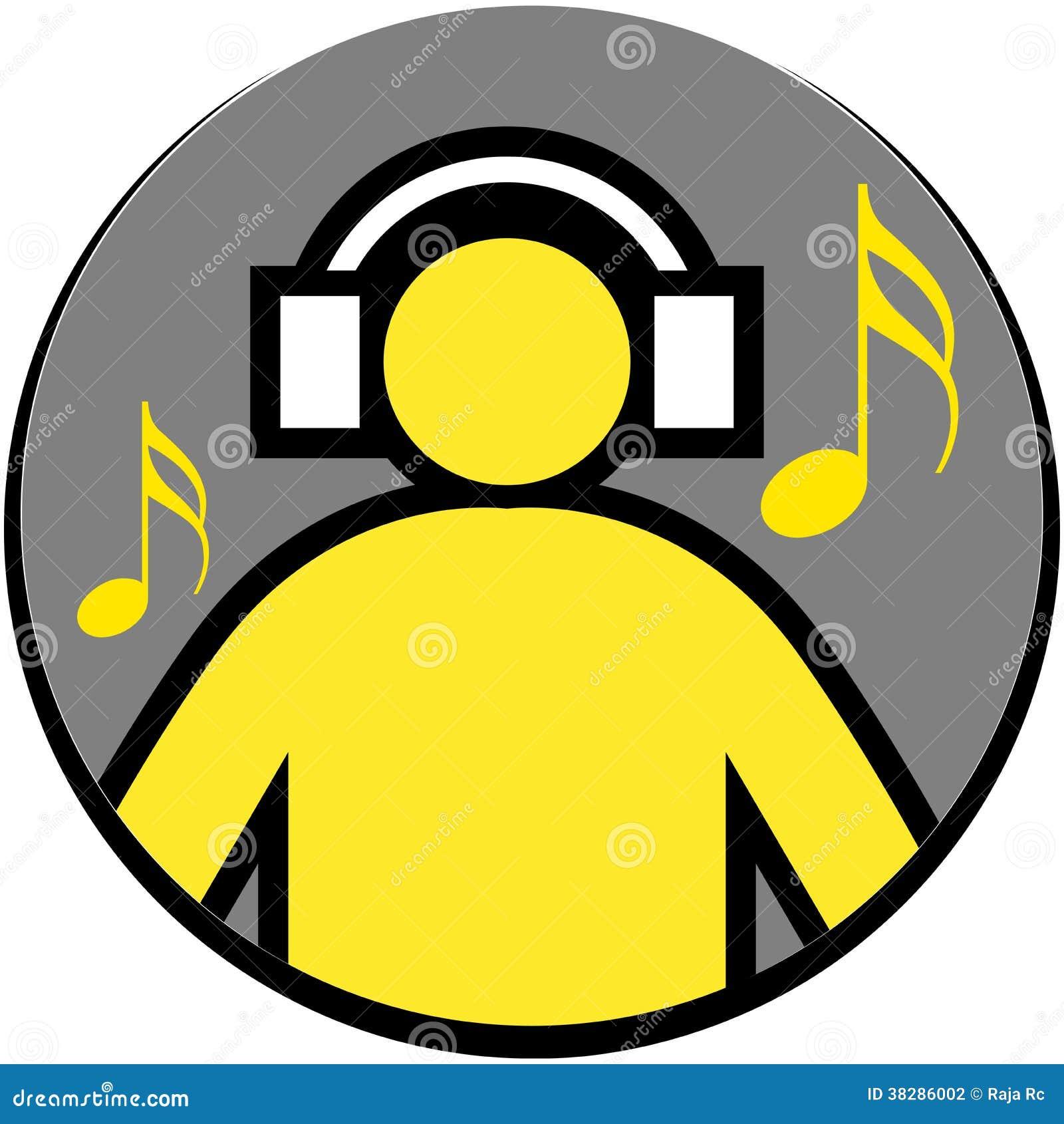 music listening vector illustration dreamstime