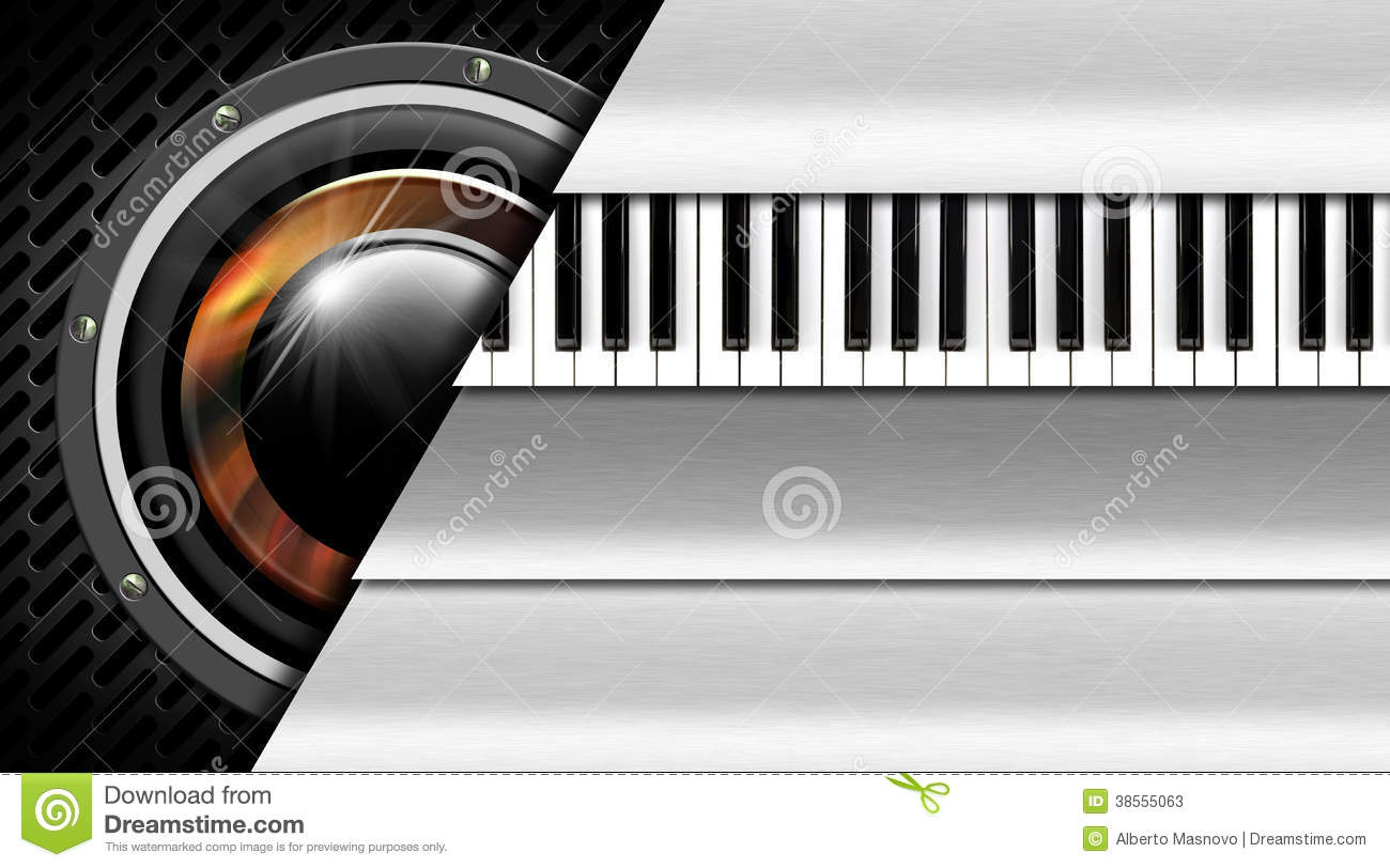 Music metal business card stock photos image 38555063 for Music business card background
