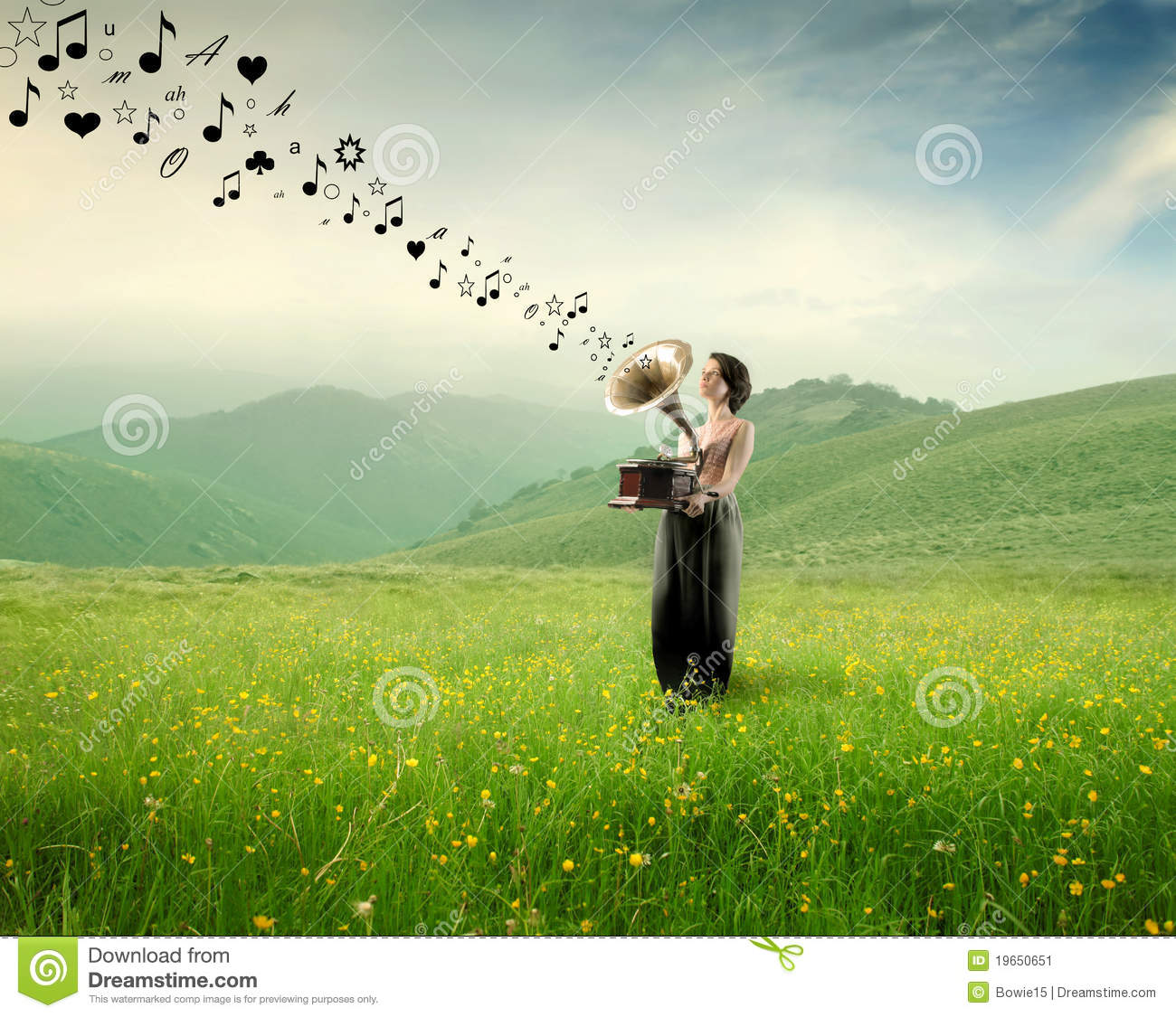 Beautiful garden wallpaper - Music In The Nature Stock Image Image 19650651