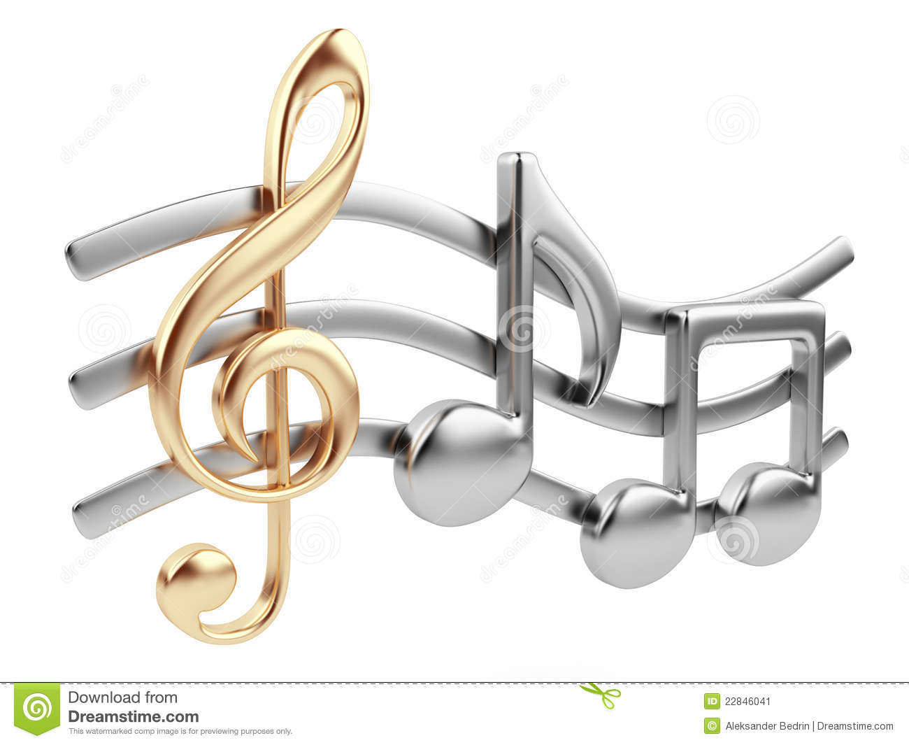music note 3d music composition isolated stock image music notes vector art Musical Notes Vector Art Guitar