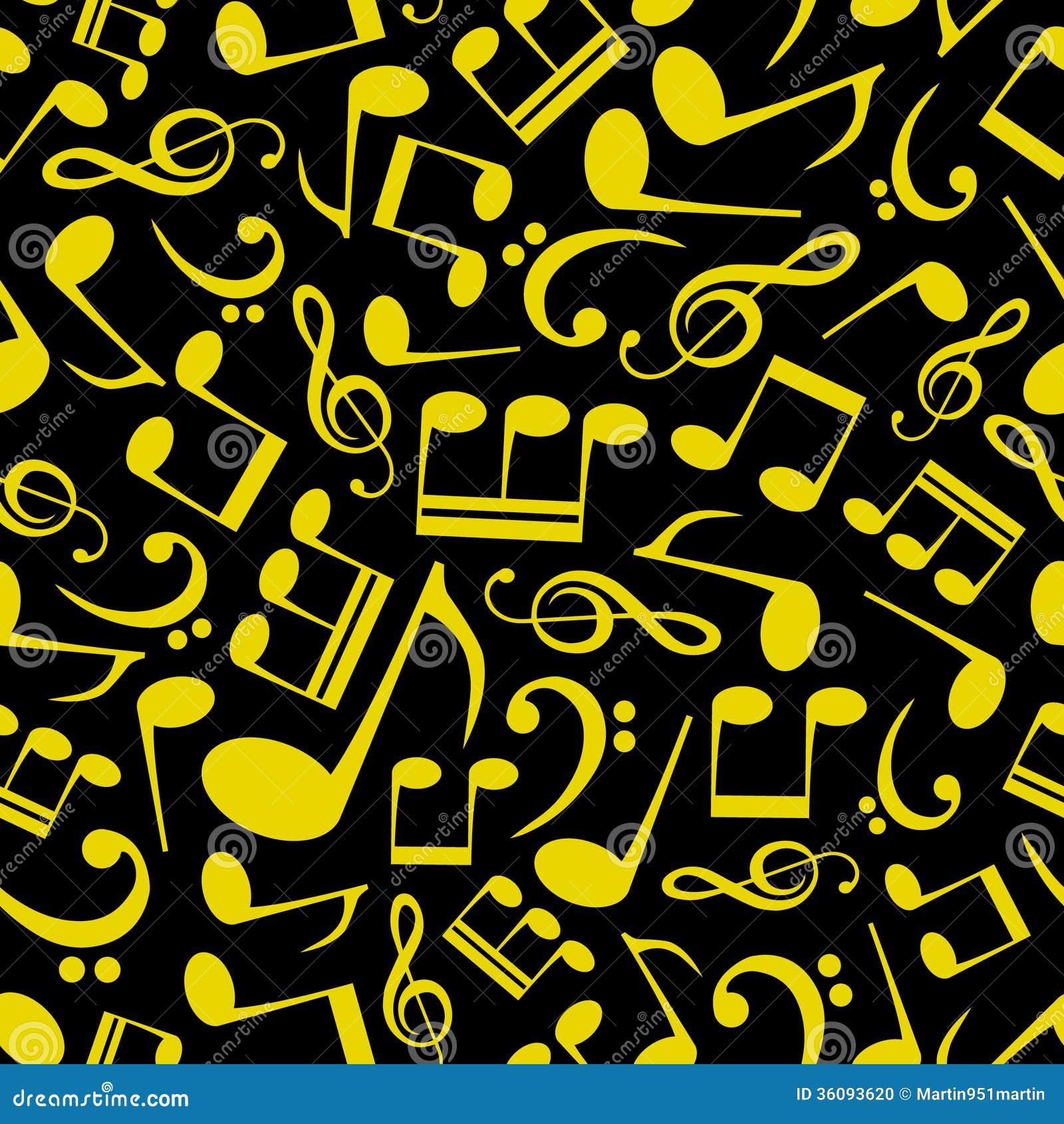 music note pattern eps10 stock photo image 36093620