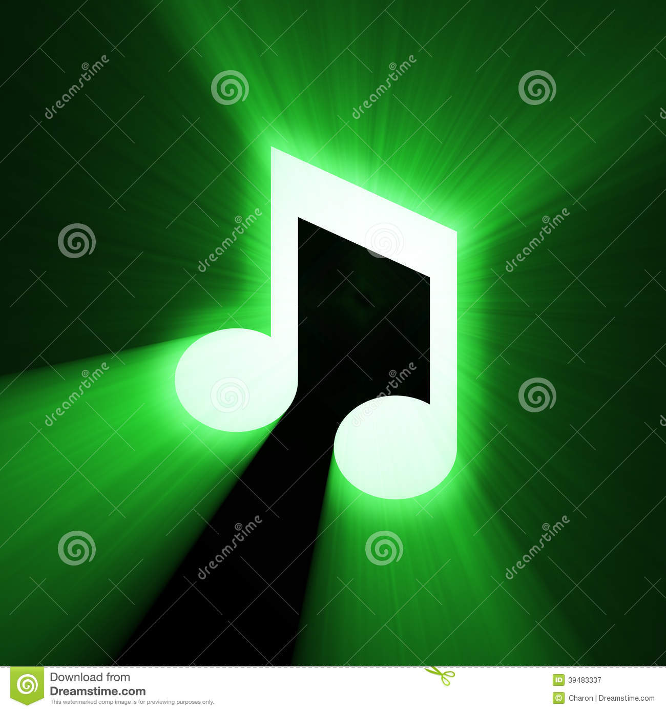 Music note sign halo light flare stock illustration illustration music note sign halo light flare biocorpaavc Image collections