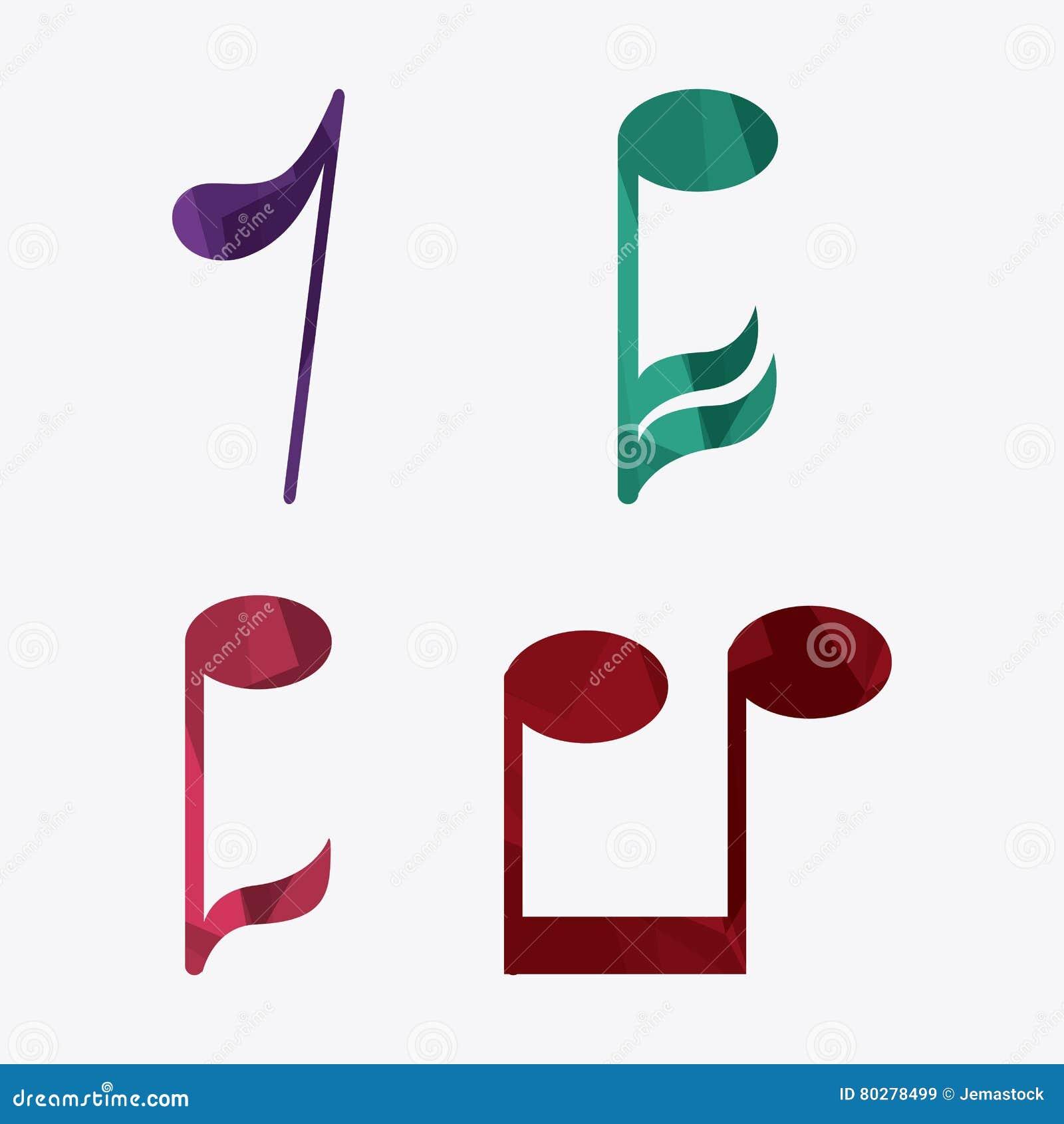Music Note Sound Media Festival Icon  Vector Graphic Stock