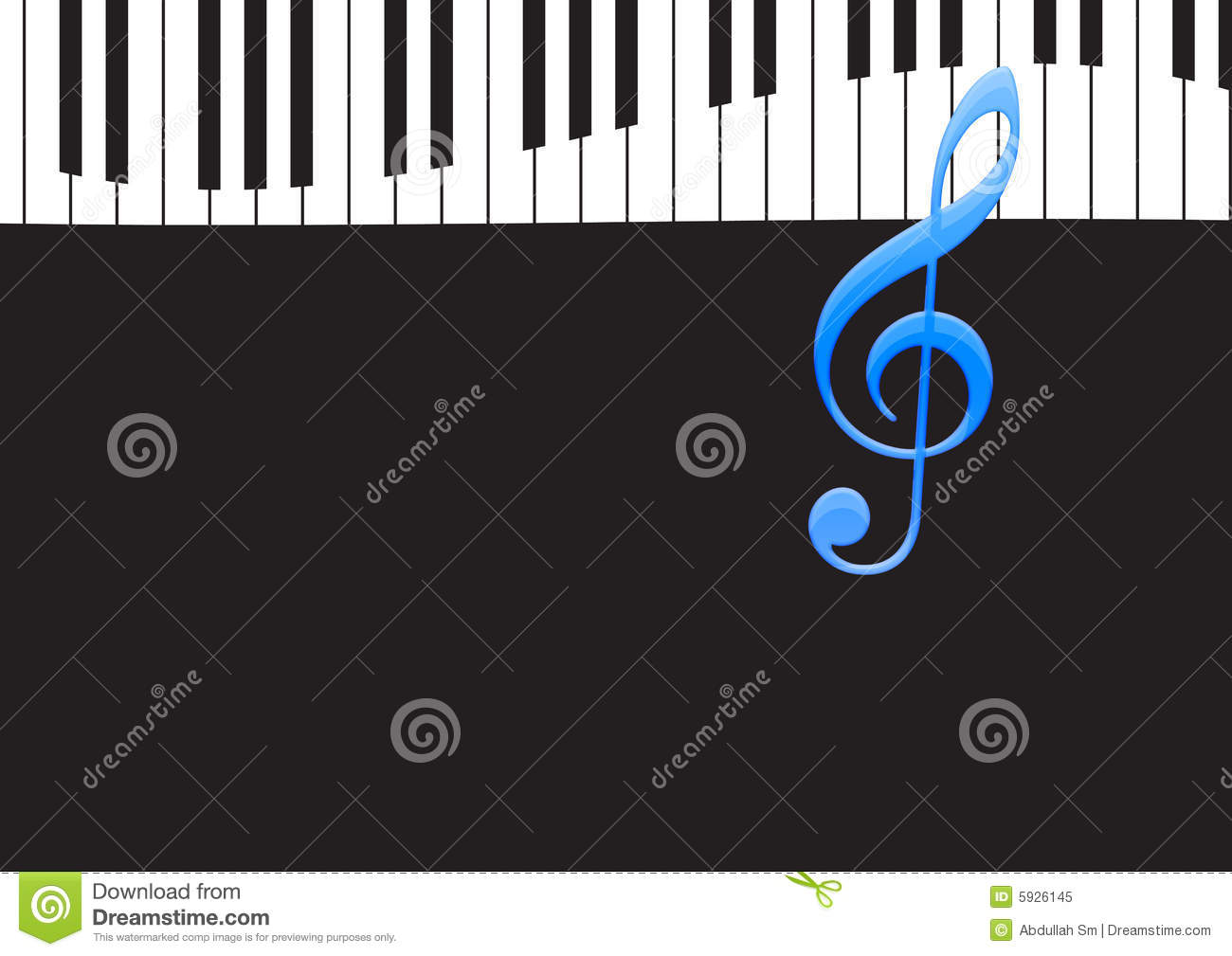 Music note and wavy piano keyboard stock illustration royalty free stock photo biocorpaavc Image collections