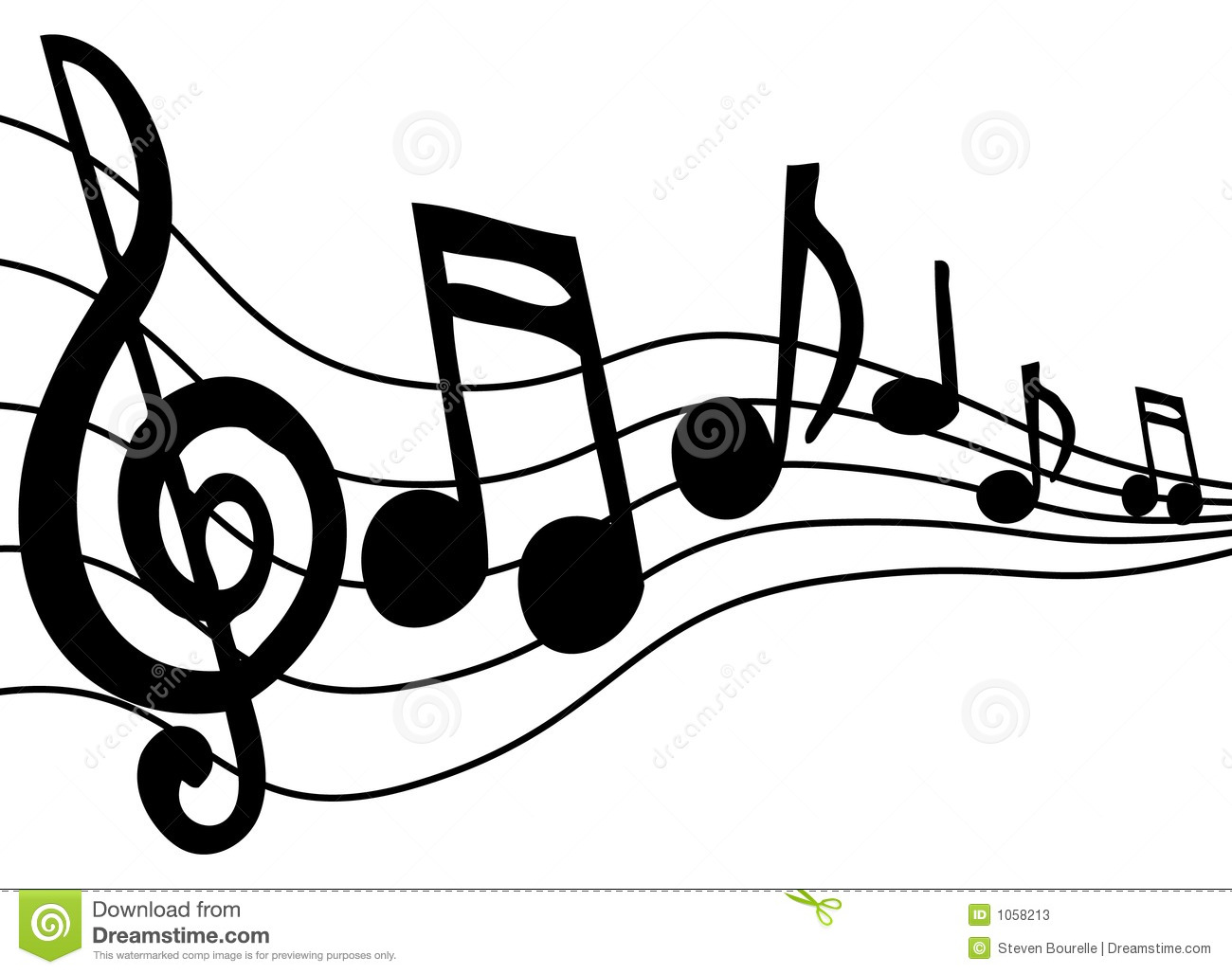 Super Music Notes stock vector. Image of classical, jazz, style - 1058213 ZO72