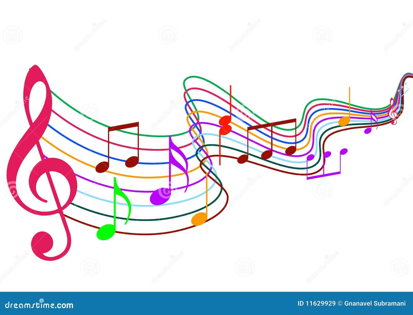 Music Notes stock illustration. Illustration of deep ...