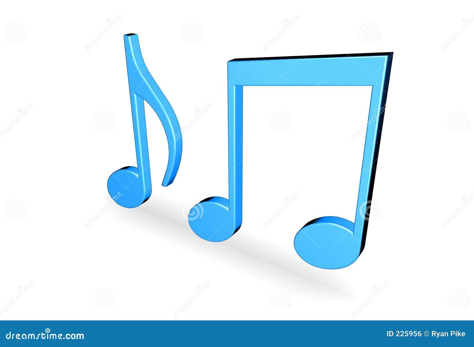 Download Music notes stock illustration. Illustration of listen - 225956