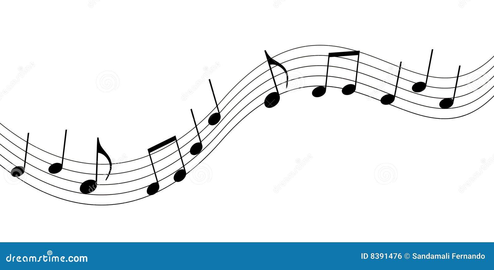Music Notes Royalty Free Stock Image - Image: 8391476