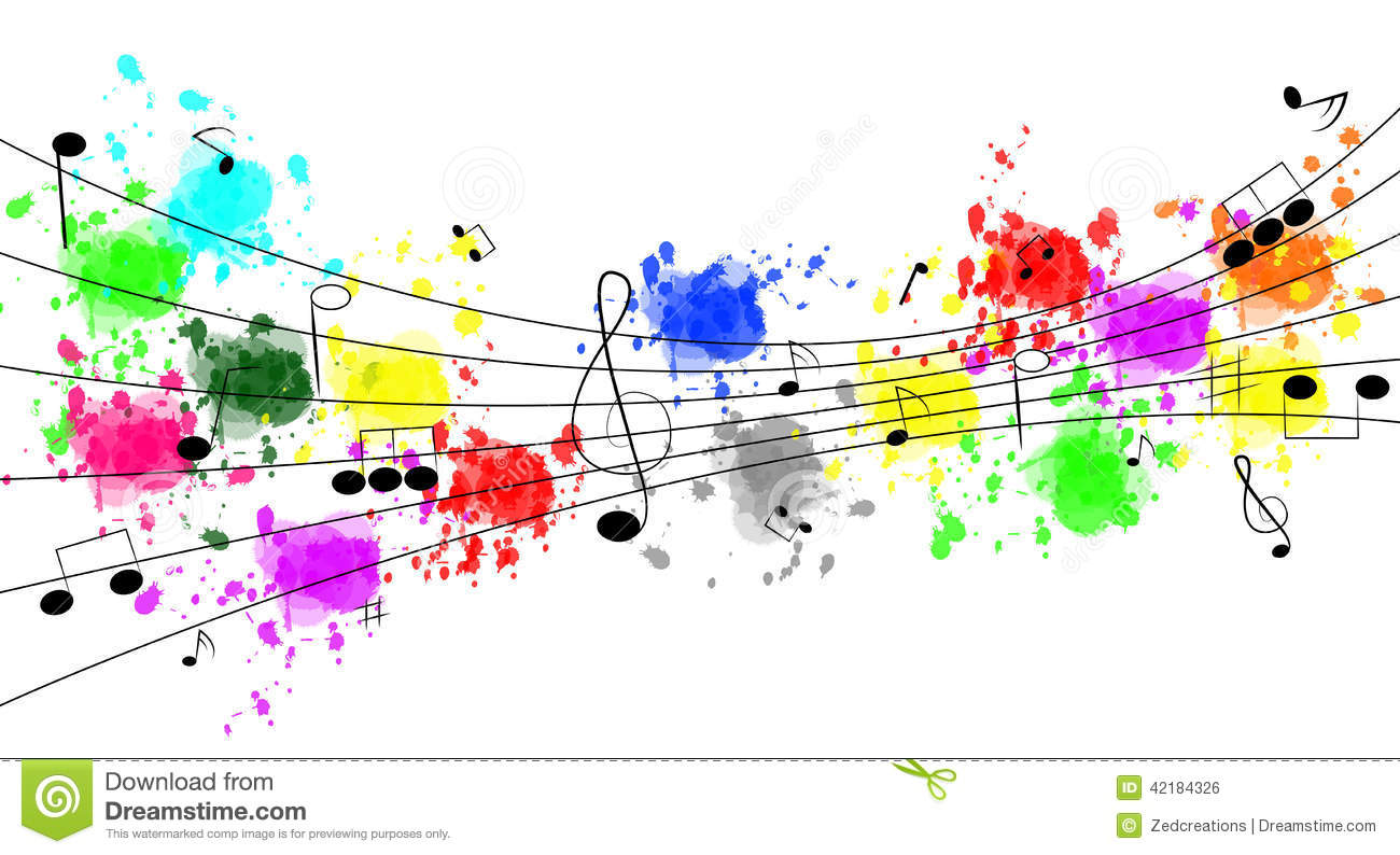 Music Notes Stock Vector Illustration Of Illustration 42184326