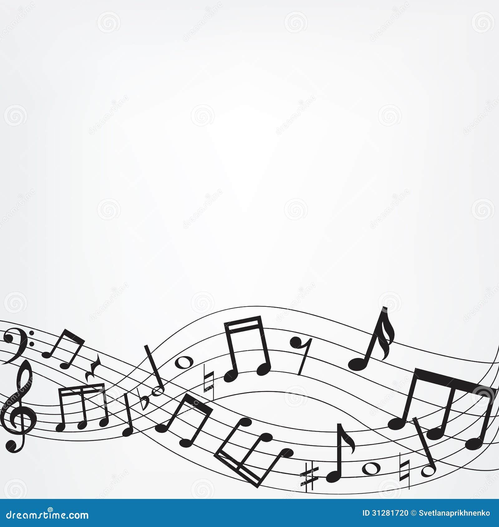Music Notes Border Frame Stock Illustrations 748 Music Notes