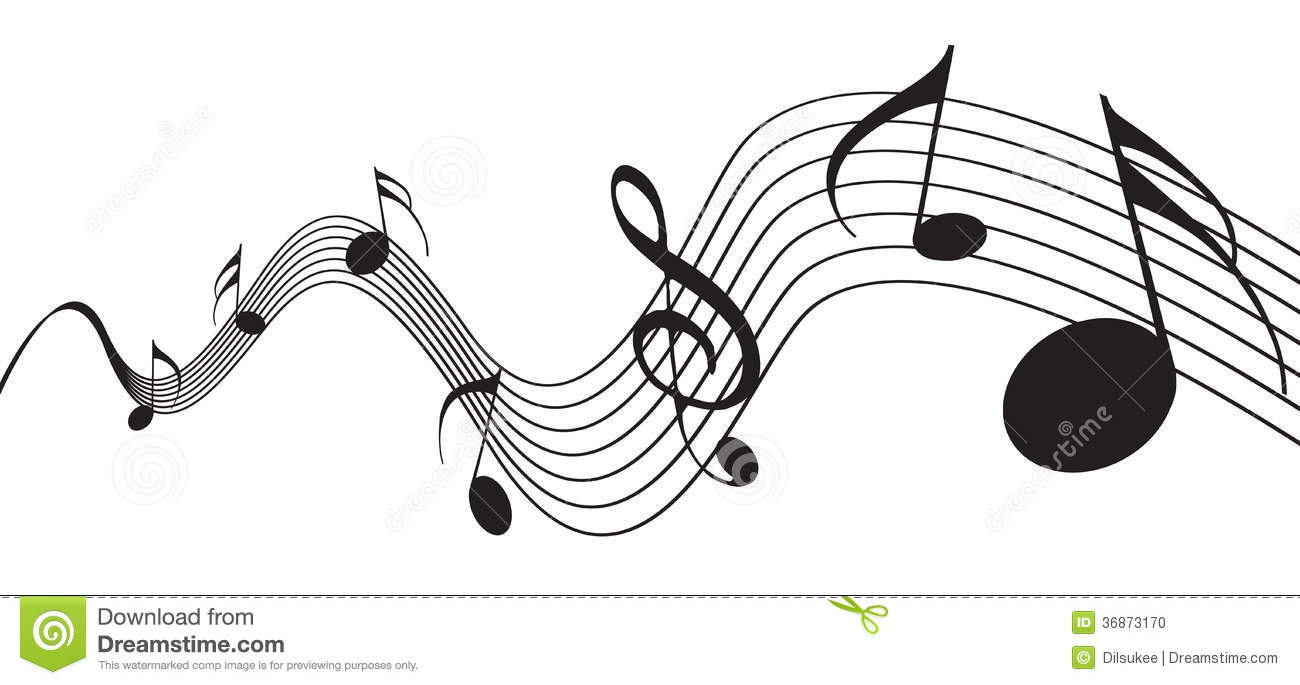 Music Notes Stock Photo Image 36873170