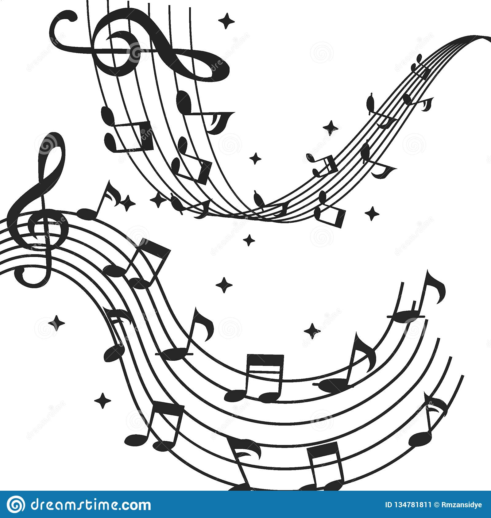 music-notes-musical-watercolor-background-vector-illustrator-collection-illustrations-different-isolated-white-134781811 Best Of Music Notes Clipart Vector @koolgadgetz.com.info
