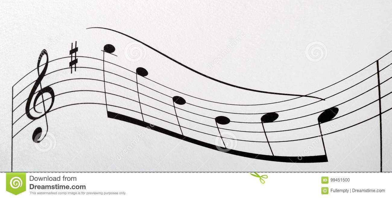 Music Notes Score Background Stock Photo Image Of Musical Note Piano Diagram With