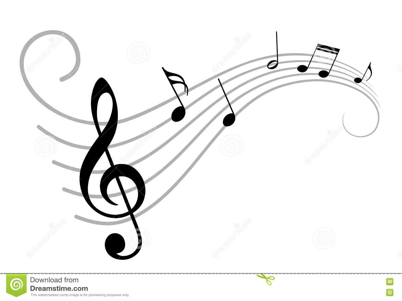 Music Notes Stock Vector Illustration Of Notation Notes 75278166