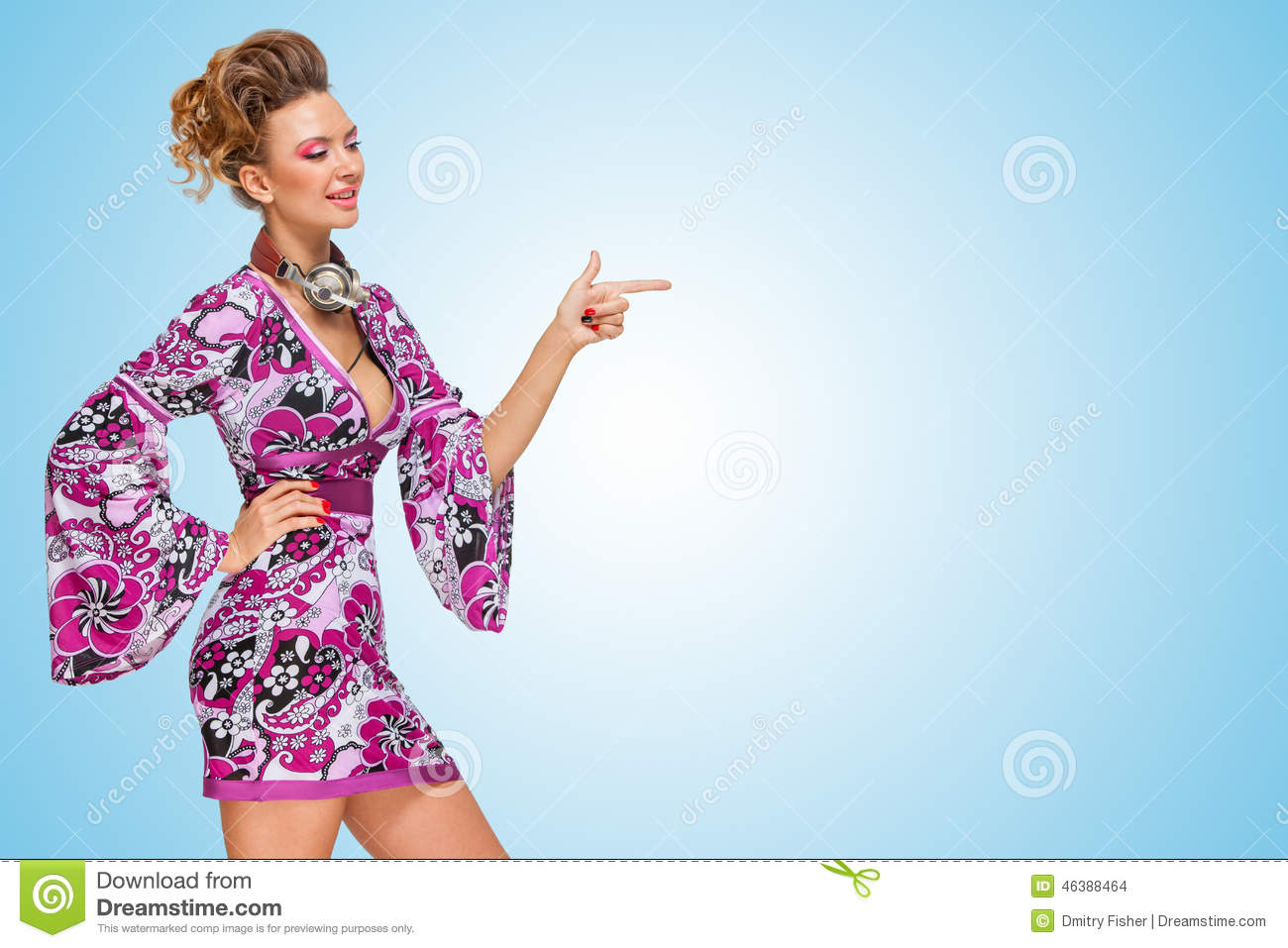 Music is over there  stock photo  Image of beautiful - 46388464