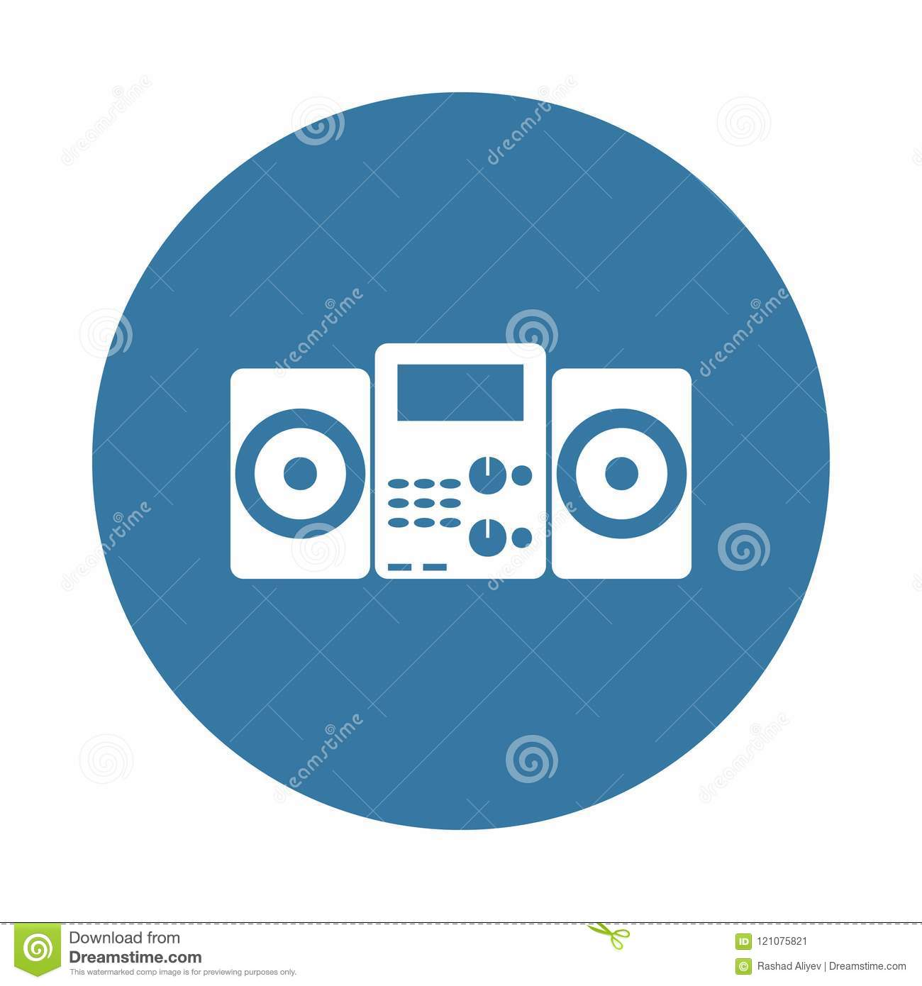 Music Player Icon  Element Of Electro Icons For Mobile Concept And