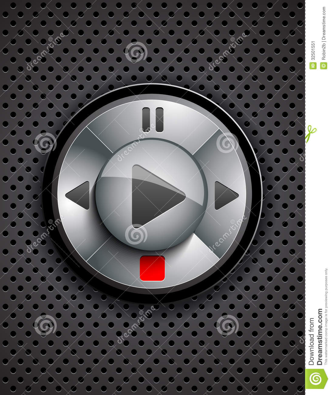 Music Player Stock Image - Image: 32501551