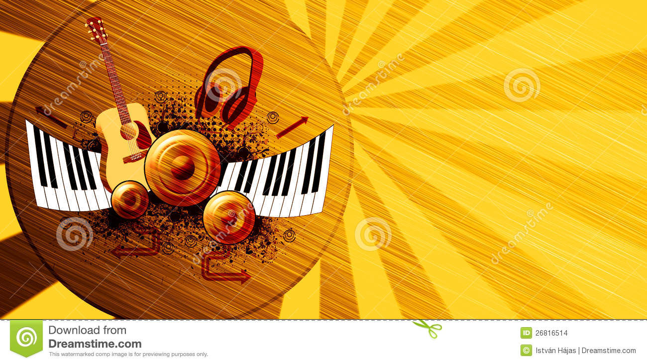 Music Poster Background Stock Images - Image: 26816514