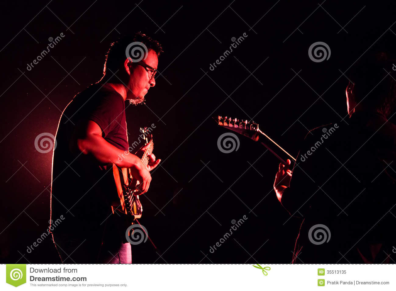 Music Rock Show Live Background Editorial Image - Image of