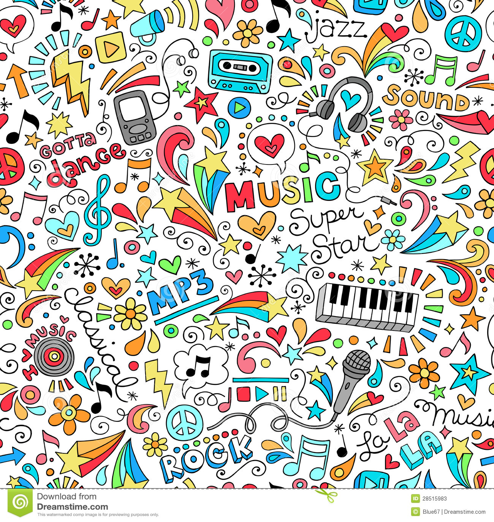Best Wallpaper Music Pattern - music-seamless-pattern-notebook-doodles-vector-ill-28515983  Best Photo Reference_546727.jpg