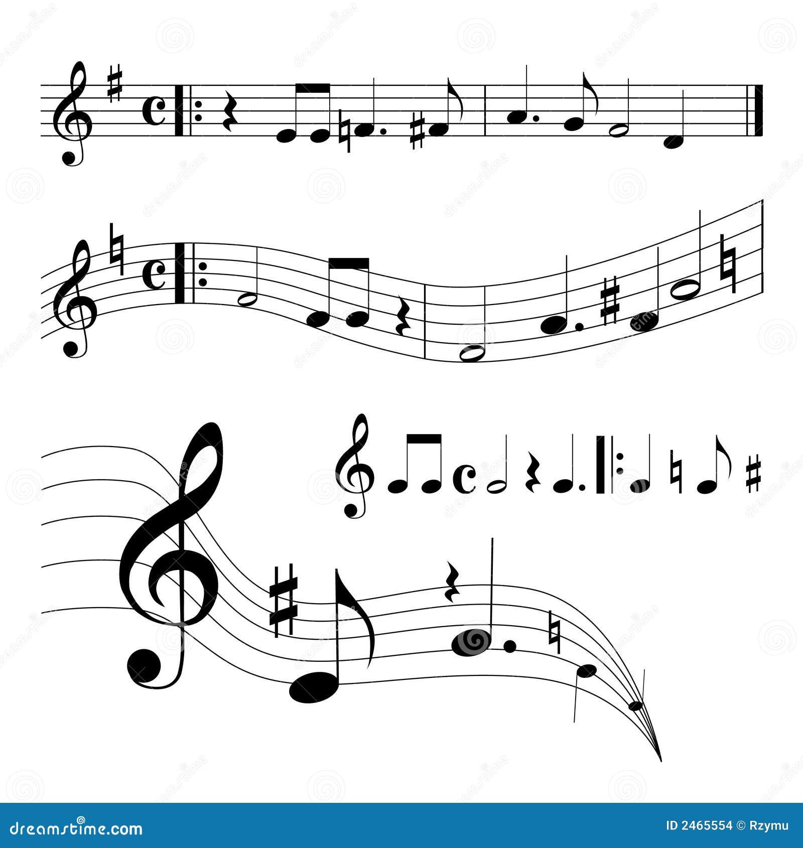 Music Sheet Stock Vector. Illustration Of Clef, Harmony