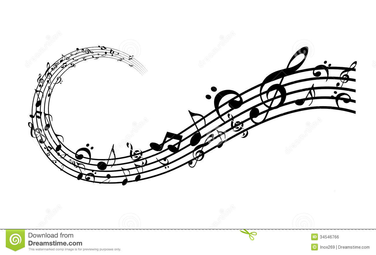 Music And Sound Royalty Free Stock Image - Image: 34546766