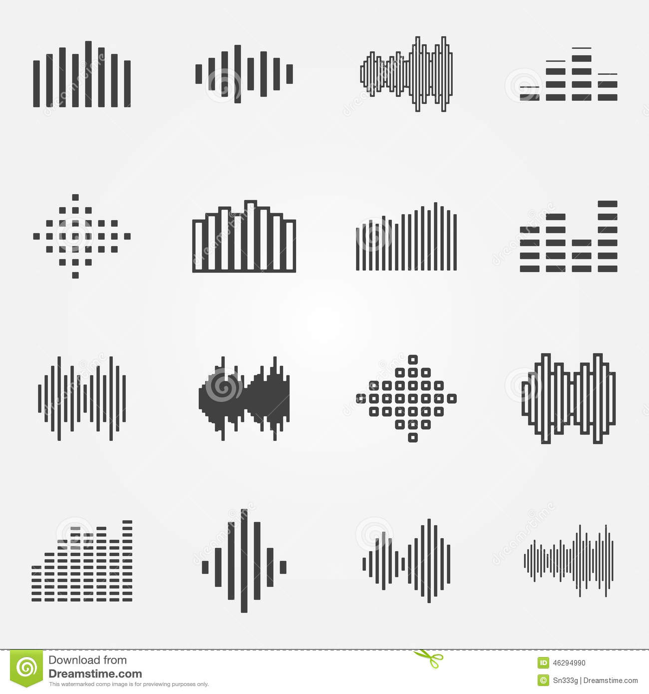how to draw a sound wave