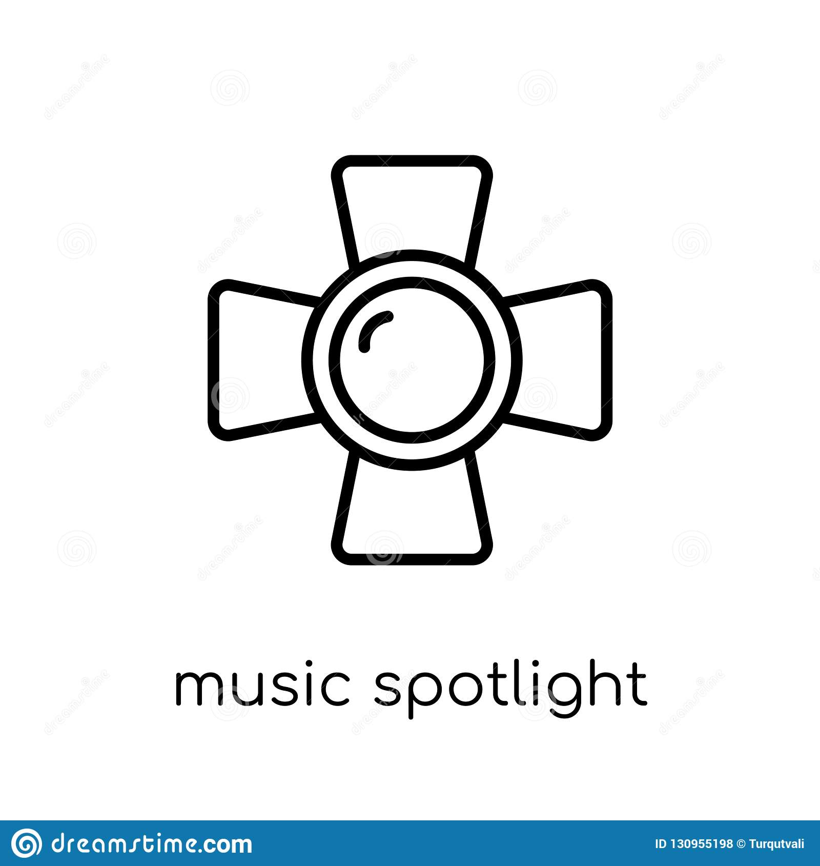 music Spotlight icon from Music collection.