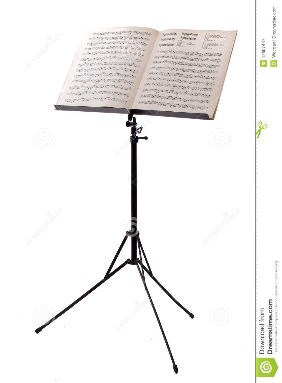 Music Stand Royalty Free Stock Photography Image 13607447