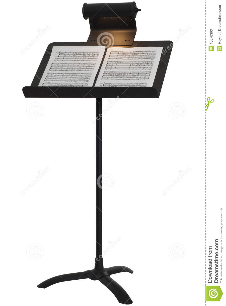 Music Stand Stock Photos Image 15670393