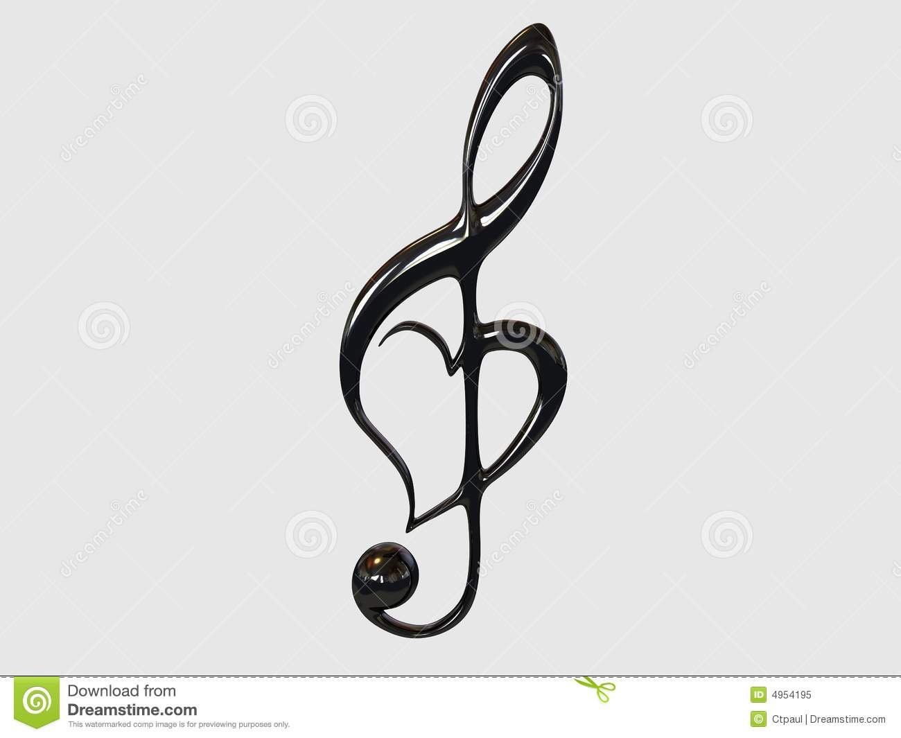 Music Symbol Stock Illustration Illustration Of Classical 4954195