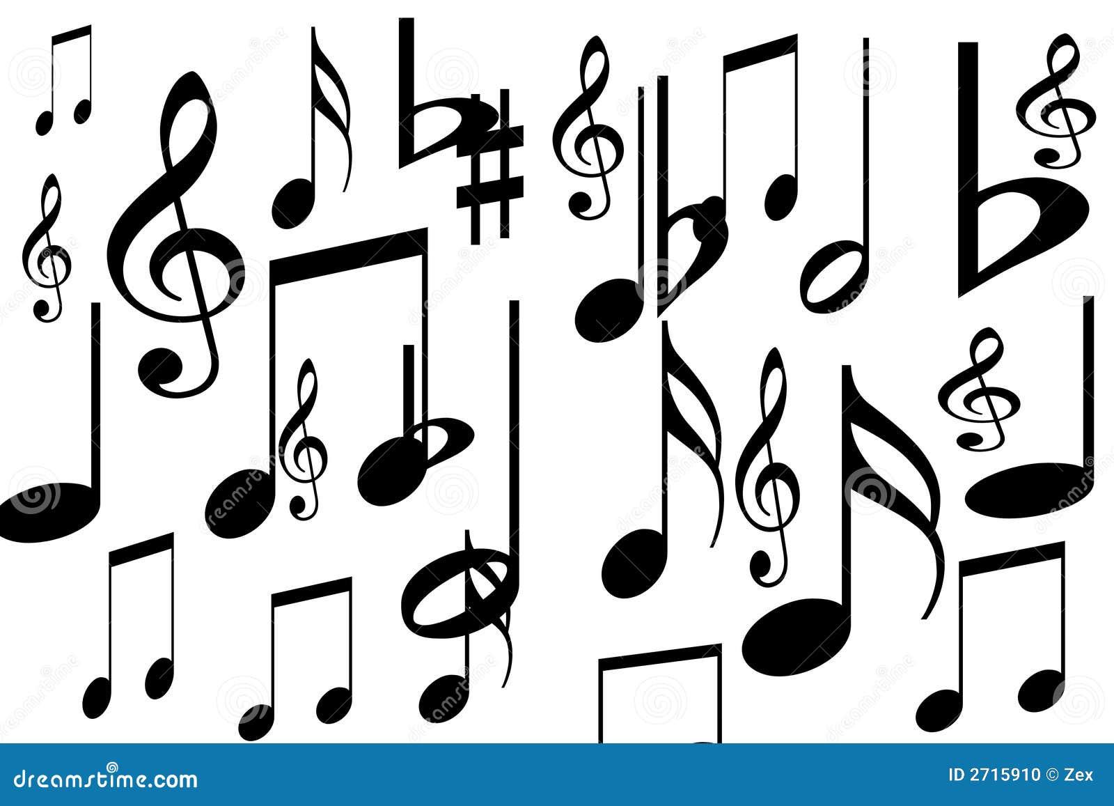 Music symbols stock illustration illustration of abstract 2715910 music symbols buycottarizona Gallery