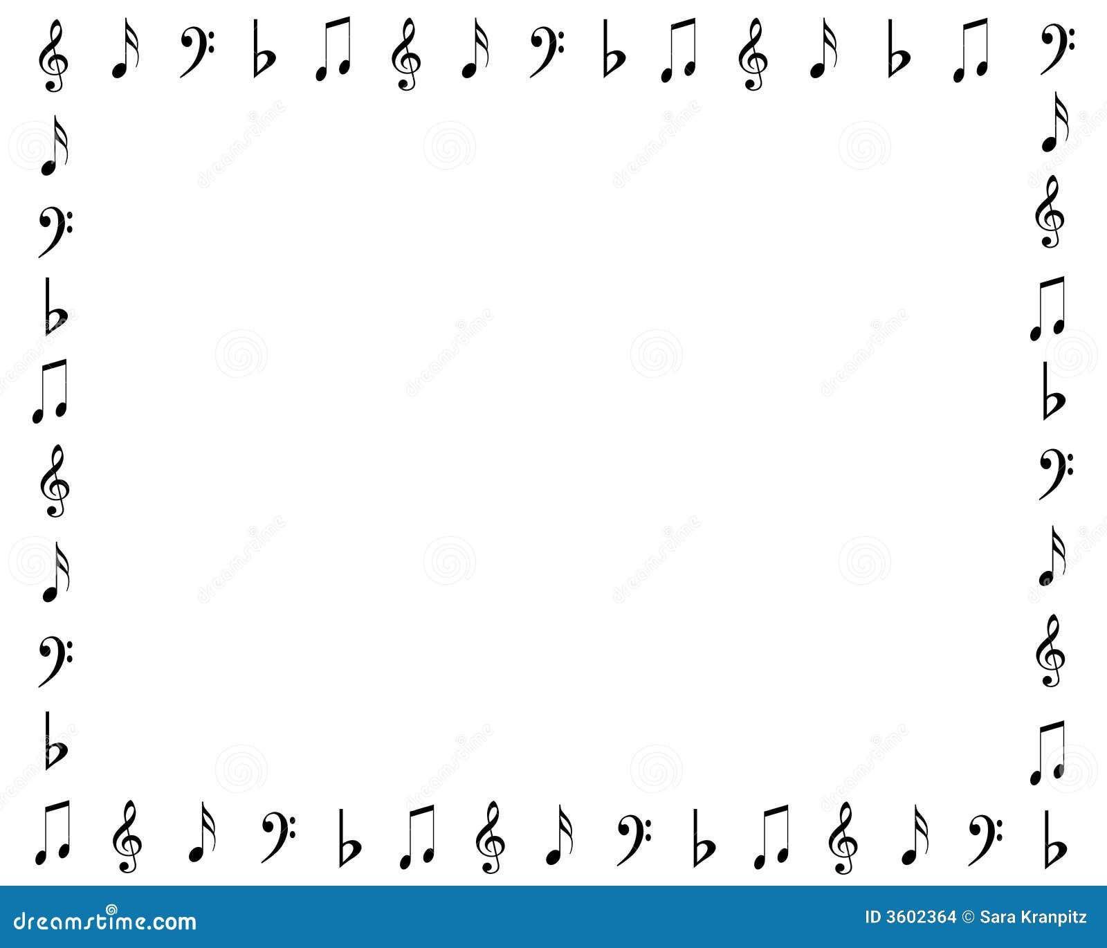 music symbols border stock illustration illustration of Are Music Notes Symbol Music Notes Symbols