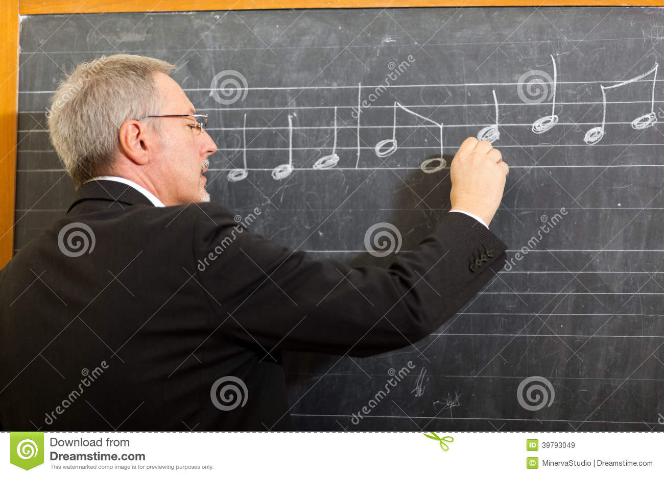 Music Teacher Stock Photo - Image: 39793049